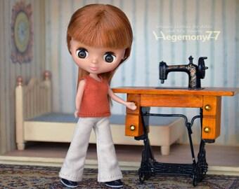 Doll singlet for Petite Blythe, Little Pullip / Dal