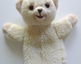 Vintage Snuggle Hand Puppet Plush 1986