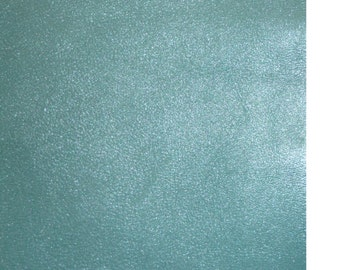 """Leather 20""""x20"""" Pearlized Ice Princess Blue SOFT Hide 2.5 oz / 1mm PeggySueAlso"""