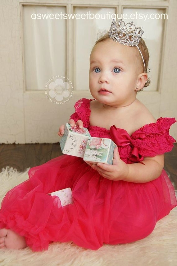 Princess Tiara Crown Photo Prop Baby Tiara Baby Headband