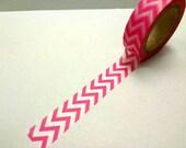 Japanese Washi Masking Tape - pink