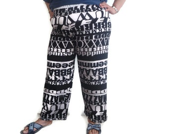 Cotton Oversize Baggy Hipster Pants