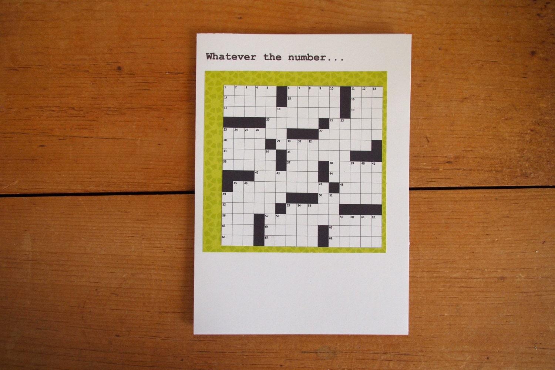mots crois s carte d 39 anniversaire pour un couple vert. Black Bedroom Furniture Sets. Home Design Ideas