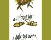 Set of 8 printed Christian cards