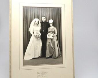 Vintage Wedding Photographs Midcentury Wedding Party