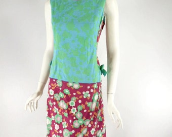 Vintage 60s The Lilly by Lilly Pulitzer 100% Cotton Shift Dress - sm, med