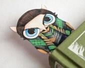 Loki Owl Bookmark (Movie Version)