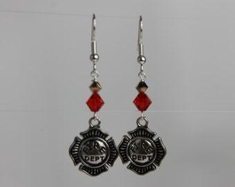Fire Department Earrings