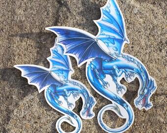 Dragon Temporary Tattoo - Dragon Tattoo - Temporary Tattoo - Dragon Tattoos - Fantasy Dragon Tattoo