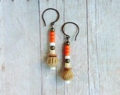 Boho Earrings with Terra Cotta