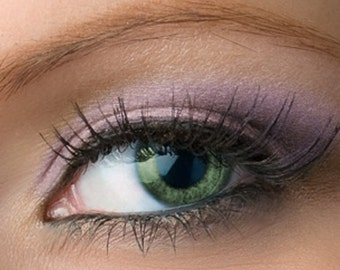 "Purple Eyeshadow with Shimmer - ""Highborn"" - Muted Purple Vegan Mineral Eyeshadow Net Wt 2g Mineral Makeup Eye Color Pigment"
