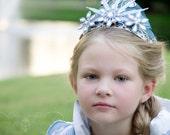 Frozen Inspired Snow Queen Crown