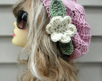 Knit Slouchy Hat Hat For Women Knit Womens Hat Knit