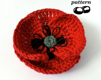 Popular items for poppy pattern on Etsy