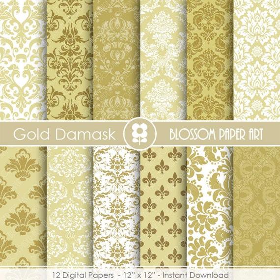 papel decorativo dorado papeles digitales beige para