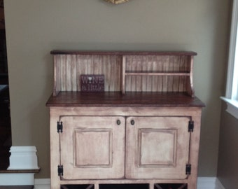 Cabinet, Wine Bar, FREE SHIPPING, Liquor, Wine, Dry Sink, Wet
