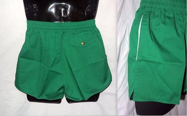 Vintage 70s Mens Shorts / Running Tennis Gym Athletic / Swim