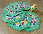 Quilted Easter Coasters Jelly Bean 267