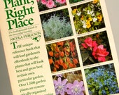 SALE! 1984 Brooklyn Botanic Gardens Right Plant, Right Place, Horticulture Garden Book