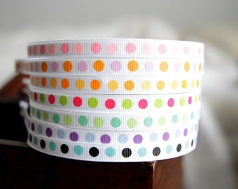 Girl Headbands- Dot Glitter Ribbon Headband- Headbands for Girls, Teens and Adults