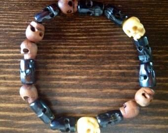 Dean Winchester's Skull Bracelet - Inspired by Supernatural