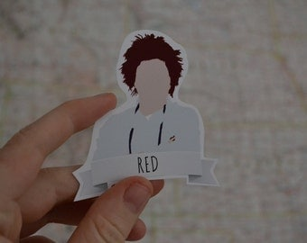 Red | OITNB | Orange is the new Black | Sticker Decal
