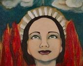 Joan of Arc ArtPrint by Gator Girl Art