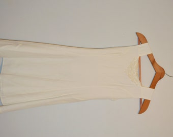 Vintage 80s Dress White Sleeveless Dress Mini Dress Crepe Mini Dress by Little Miss Size 14