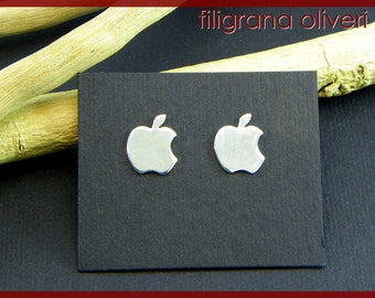 Apple Earrings Silver 925