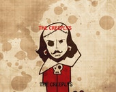 8x10 CREEPSPEARE art print by the creeplys
