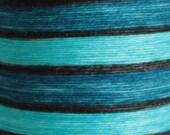 Sock Chunks - #5: Turquoise-Black-Blue