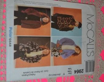 McCalls 2964 Misses Jacket  Sewing Pattern - UNCUT - Size Sml Med Lrg