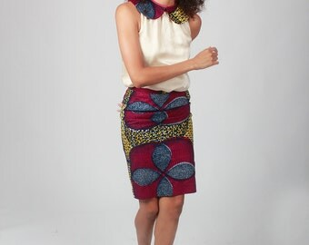 Skirt pencil EMENE Pencil skirt - size P / Size S