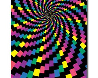 Electric Rainbow Blacklight Posters