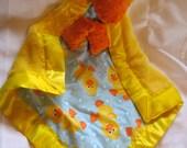 Ducky Cuddle  Blanket Toy