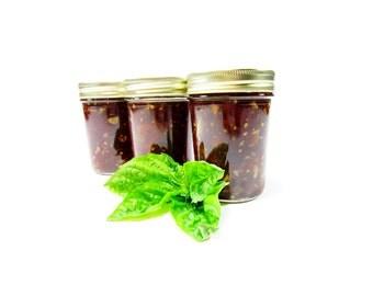 Mamma Mia - Organic Heirloom Tomato Balsamic Basil Jam