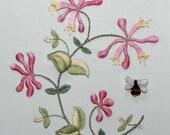 Raised Embroidery Kit - SWEET HONEYSUCKLE