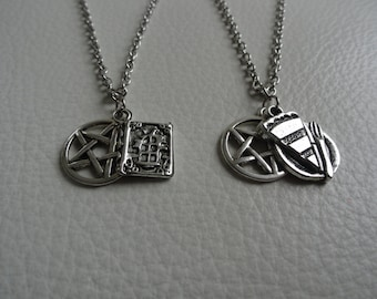 Sam & Dean Winchester Necklace Set