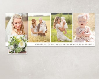 50% SALE Facebook timeline cover template photo collage photos digital PSD FC025