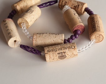 Sale christmas garland wine cork garland wedding decor for Arland decoration