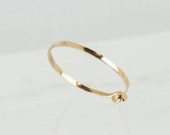 Thick Bangle, Gold Filled Bangle, Thick Gold Bangle Bracelet, Open Bangle, Gold Simple Bracelet, Minimalist Jewelry, Man Jewelry Bracelet