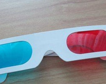 3D glasses doctor who cosplay