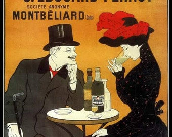 Art Print France Absinthe Advert - 1900 - Print  8 x 10