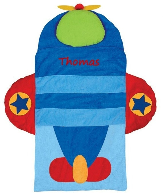 PERSONALIZED AIRPLANE NAP Mat for Toddlers Day Care Preschool