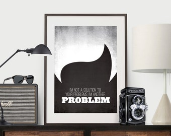 Mad Men - Joan Holloway - I'm not a solution to your problems. I'm another problem.
