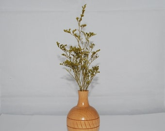 Beech Wood Vase,Small Twig Vase, Home Decor, Handmade,Holiday Gift