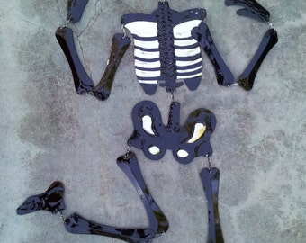 Day of the Dead Tin Skeletons