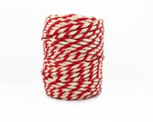 Red & White Chunky Baker's Twine 20m
