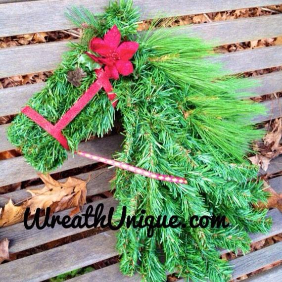 Head Wreaths For Sale Horse Head Wreath Christmas