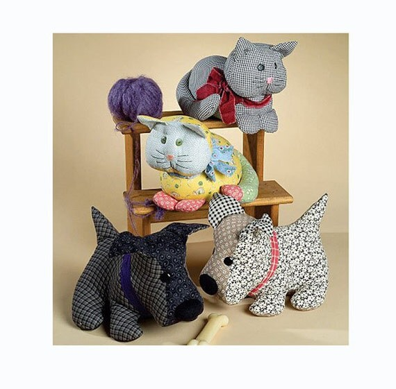 McCall's Patterns Stuffed Dog